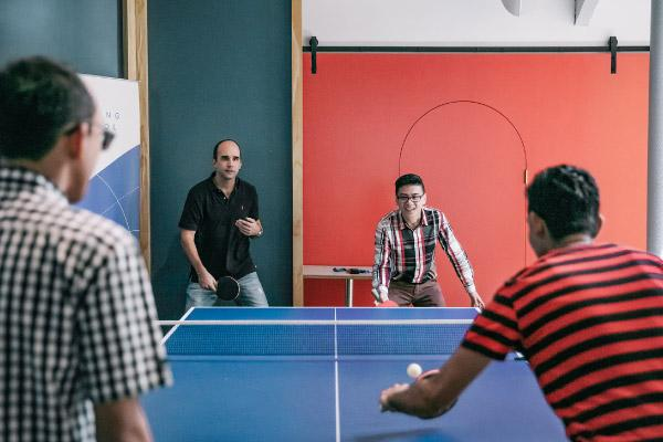 Ping Pong Table - The Working Capitol on Keong Saik