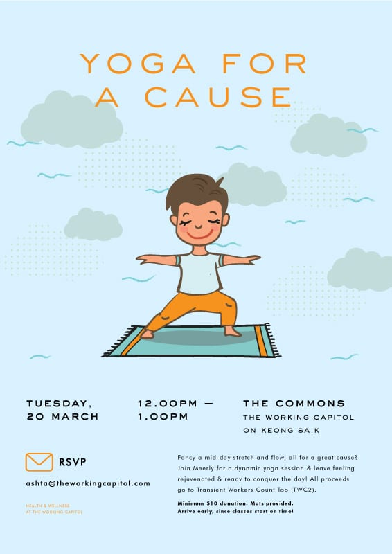Yoga For A Cause 20 March 2018